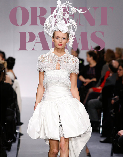 Karl lagerfeld haute couture pr t porter orient palms for Haute couture and pret a porter