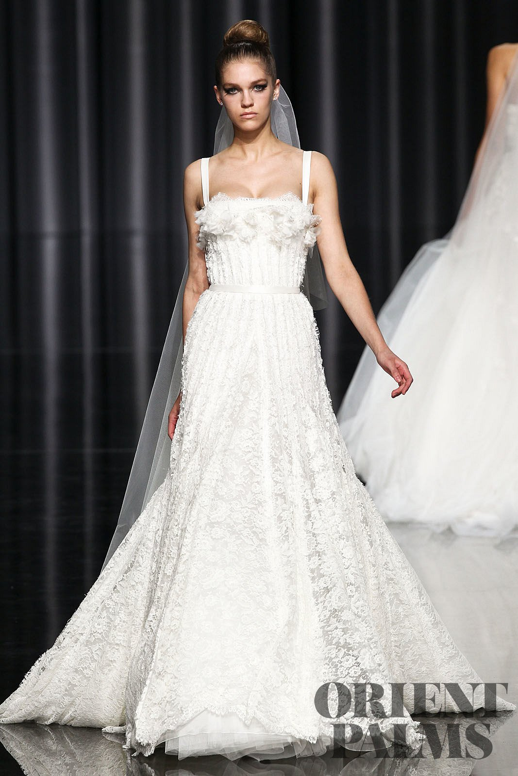 Elie by elie saab 2012 collection bridal junglespirit Image collections
