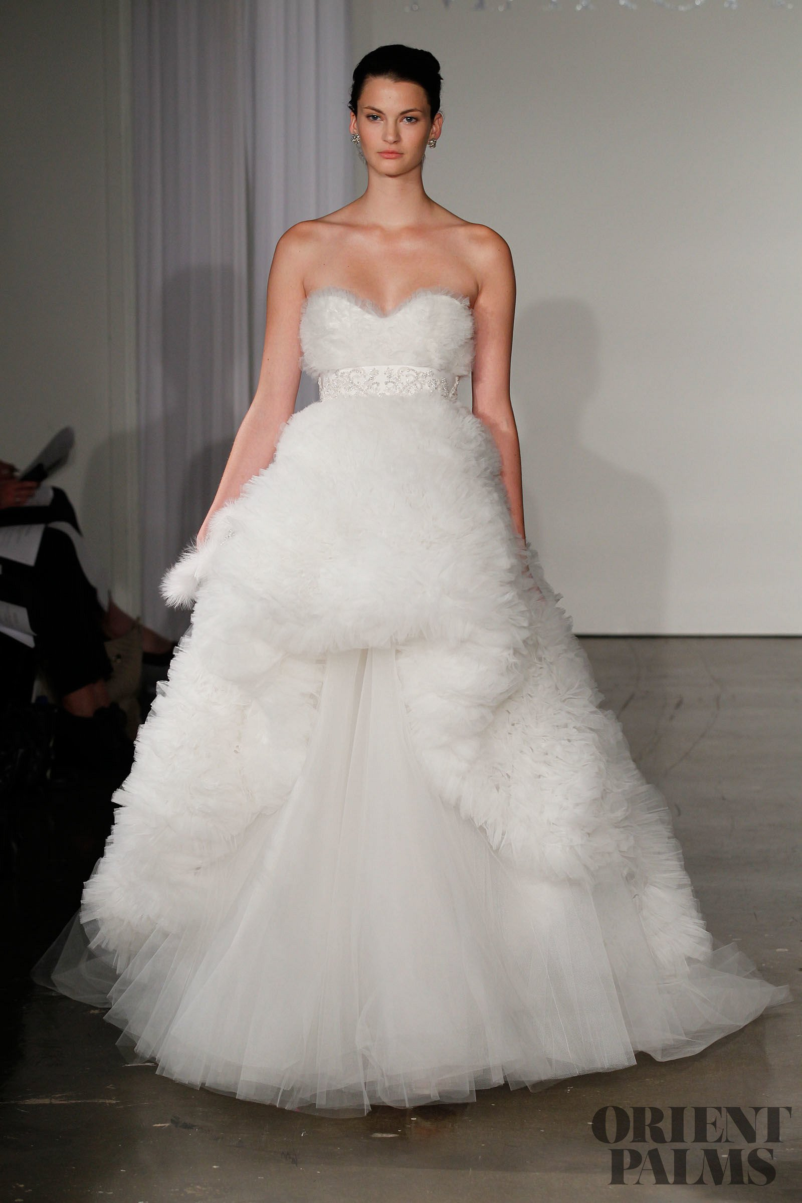 Marchesa fall winter 2013 2014 bridal for Haute couture meaning in english