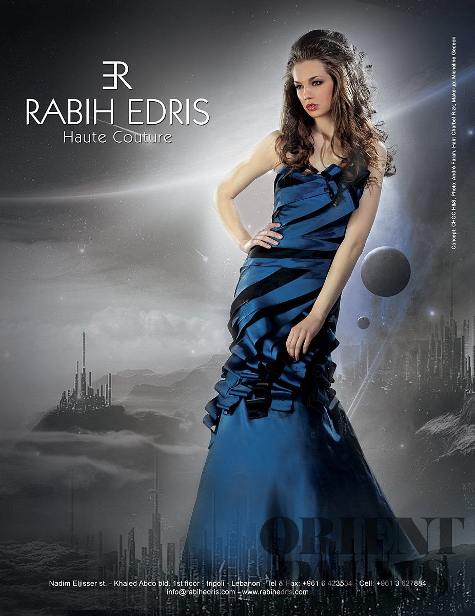 Rabih Edris Spring-summer 2011 - Couture - 1