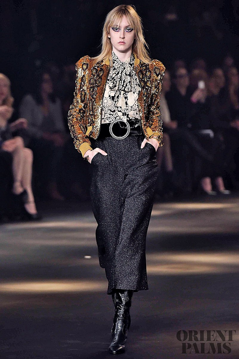 ysl fall winter 2017
