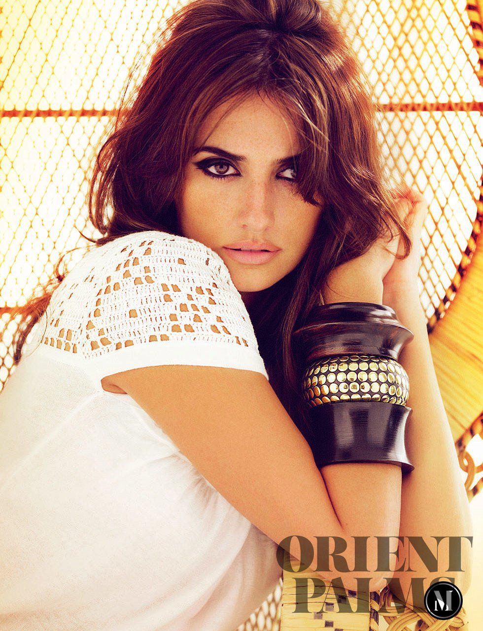 Mango Summer 2008, with Penelope and Monica Cruz Ready to Wear