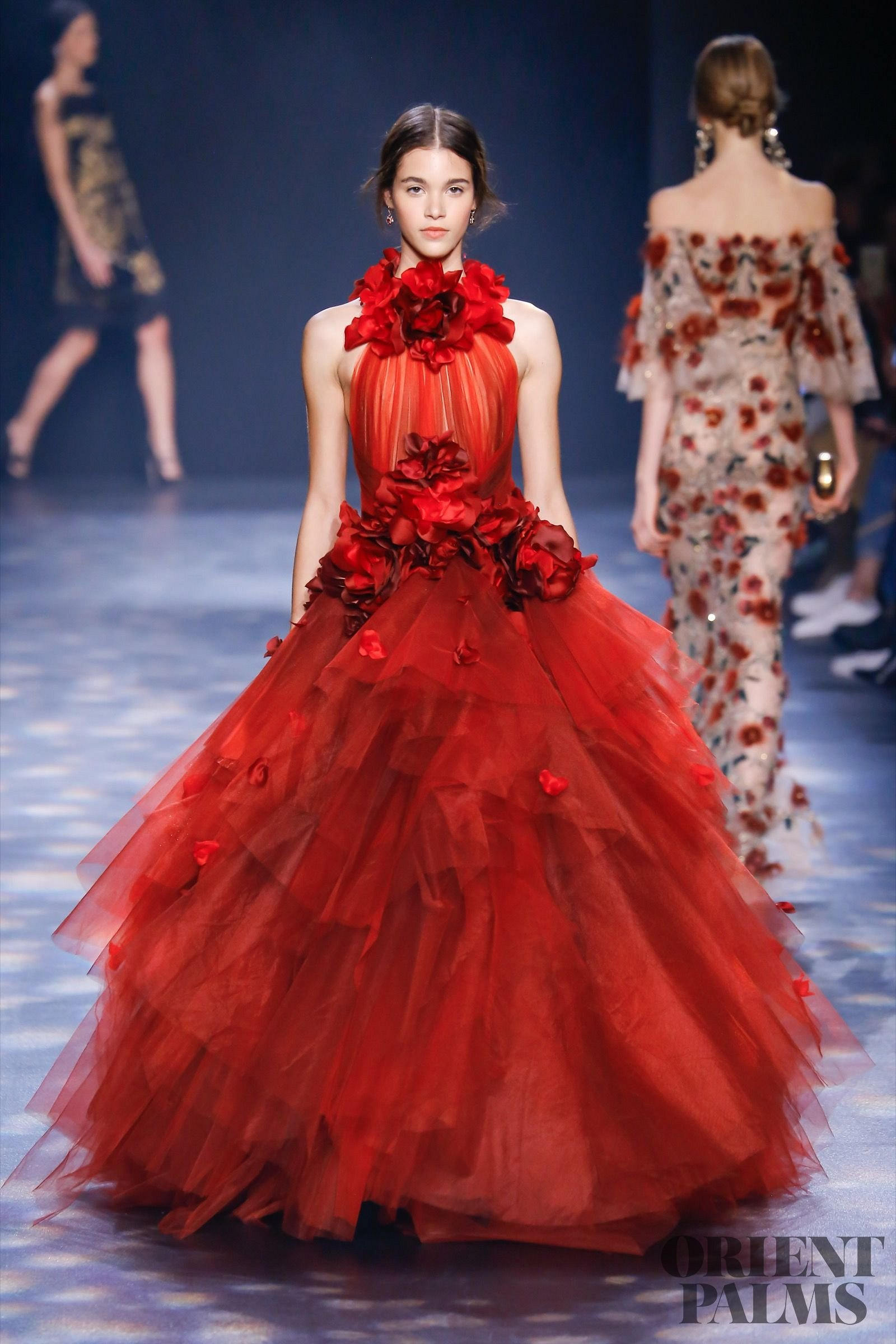 Red Winter - Our favorite evening red gowns this season