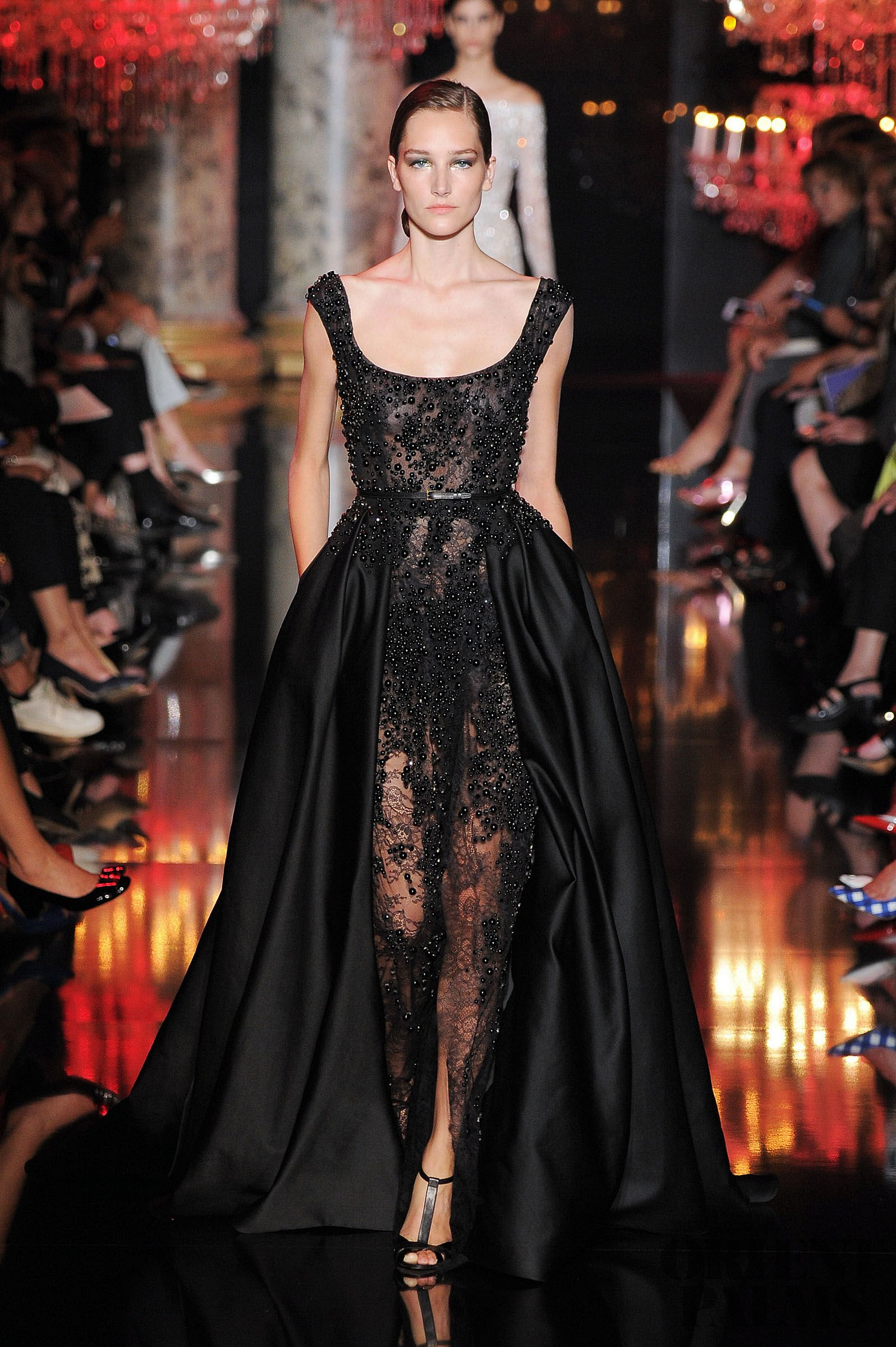 Fall-Winter 2014-2015 fashion by Elie Saab and Valentino