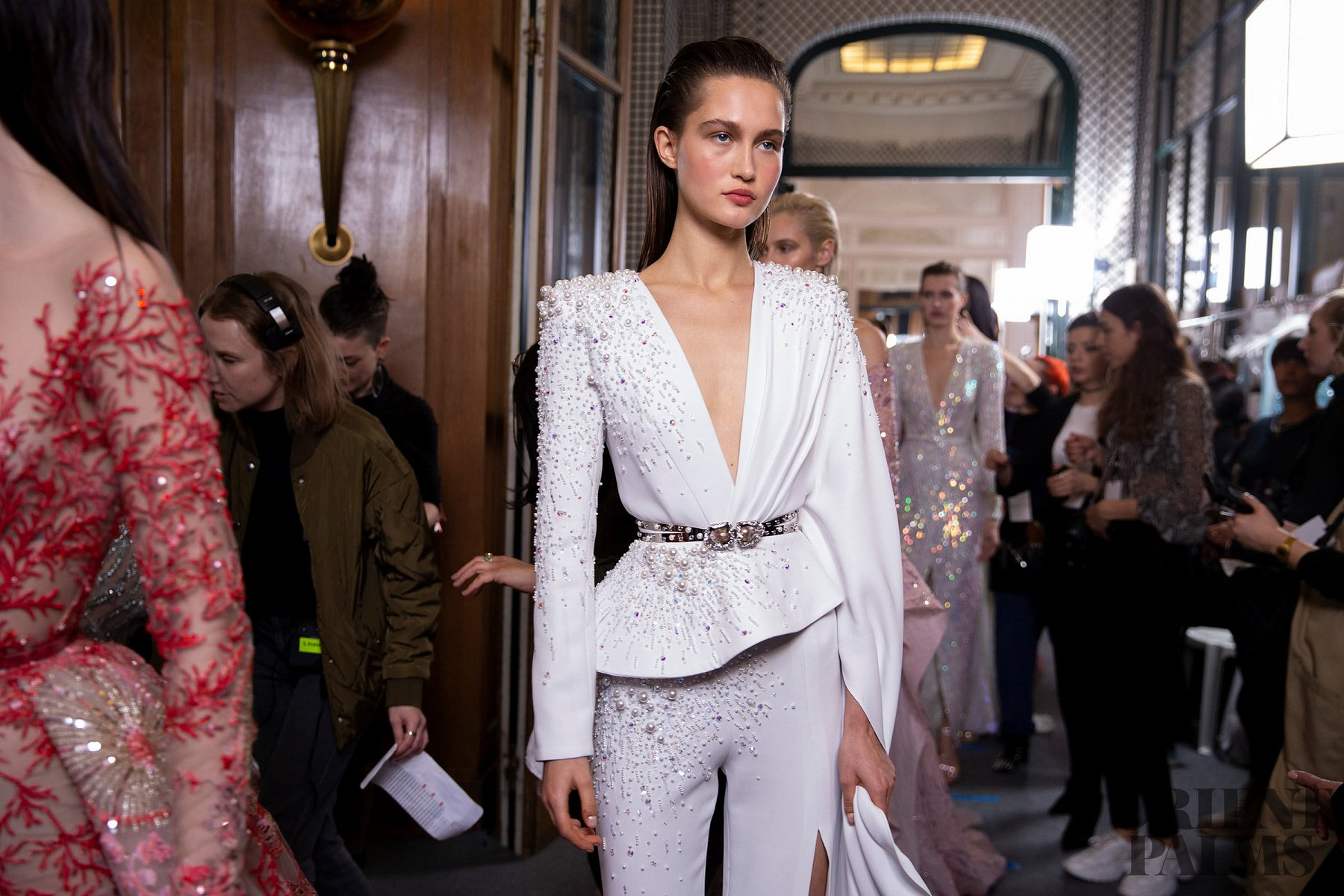 Zuhair Murad Backstage, F/S 2019 - Couture - 1