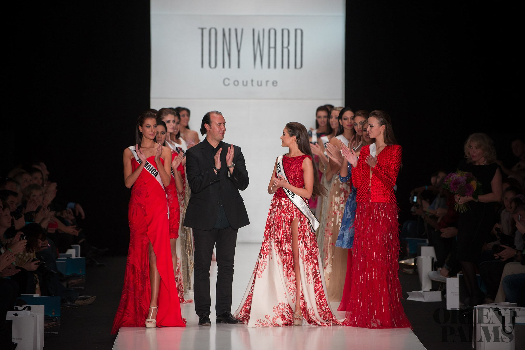 Tony Ward Miss Universe 2013, Moscow - Couture - 1