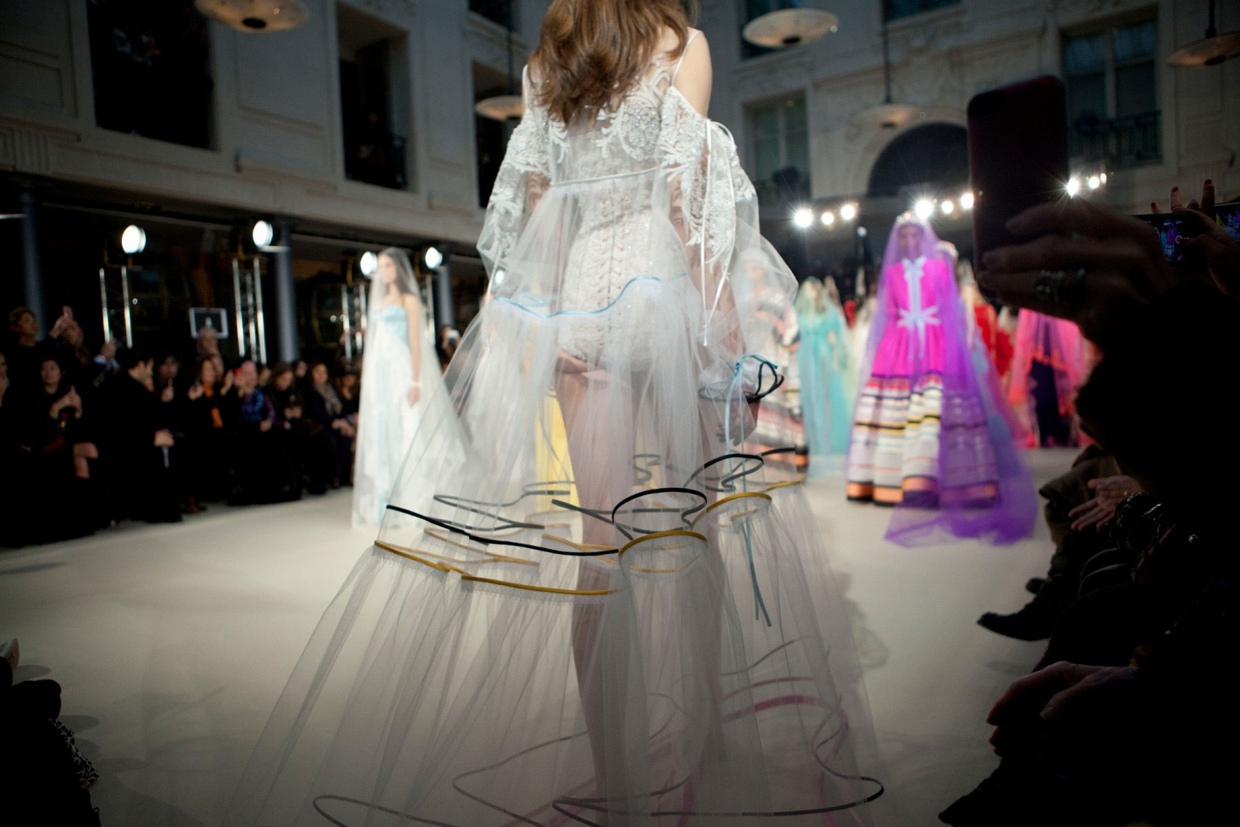 Alexis Mabille Backstage, İ/Y 2017 - Haute couture - 1