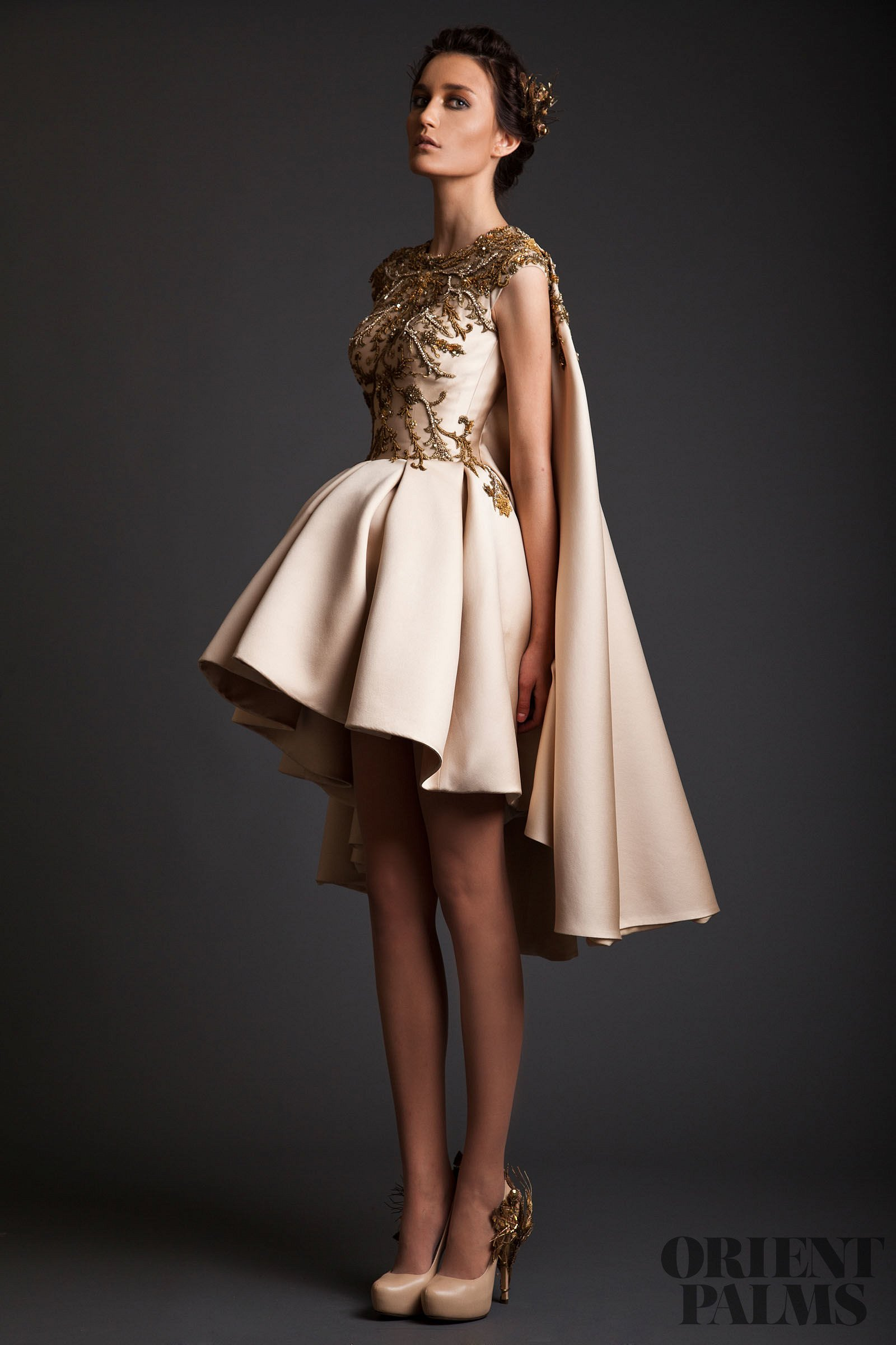 Modern dress design - Home Couture Krikor Jabotian Fashion Designer Maison Krikor Jabotian Spring Summer 2014