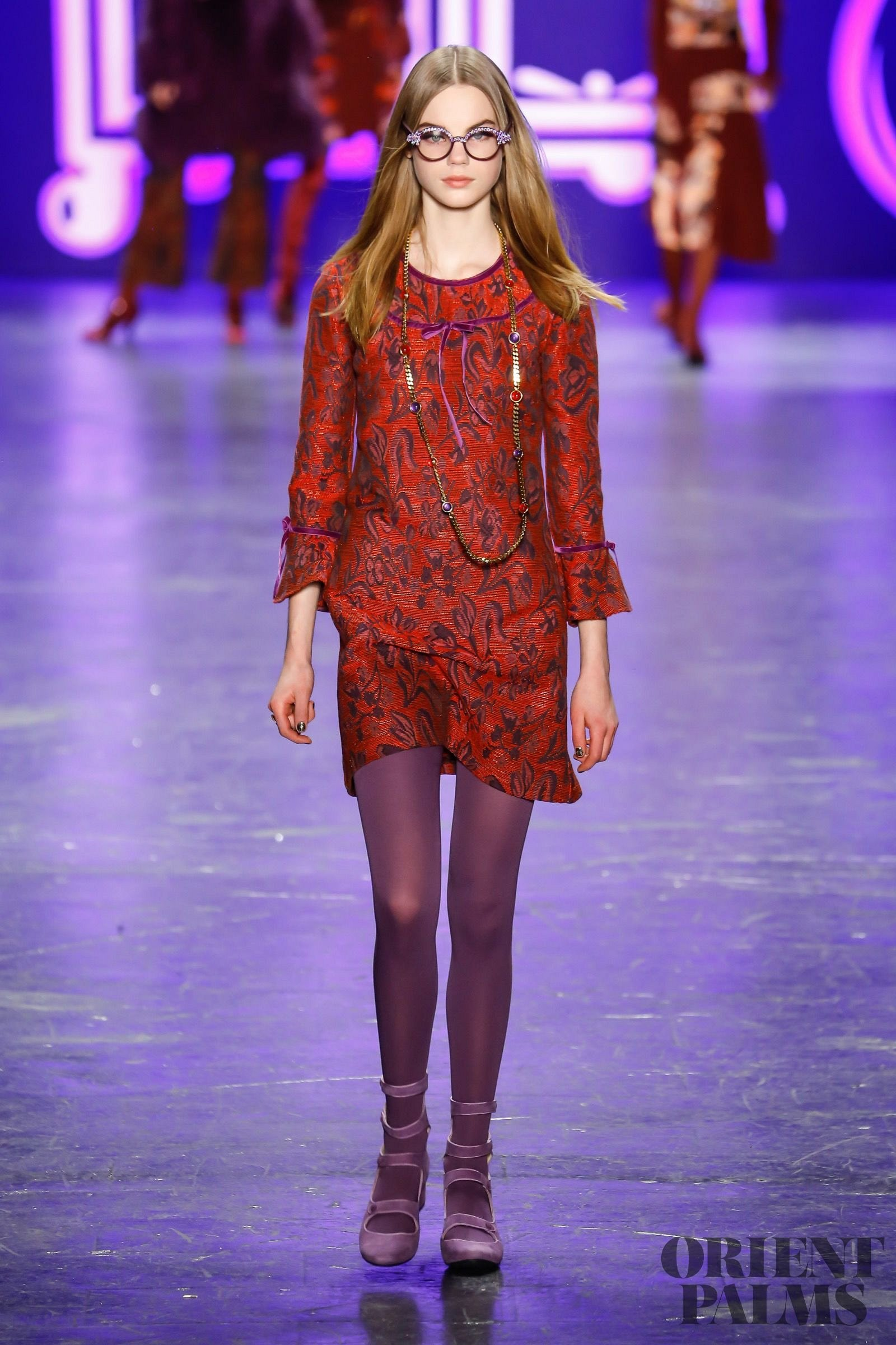Anna Sui Fall Winter 2016 2017 Ready To Wear