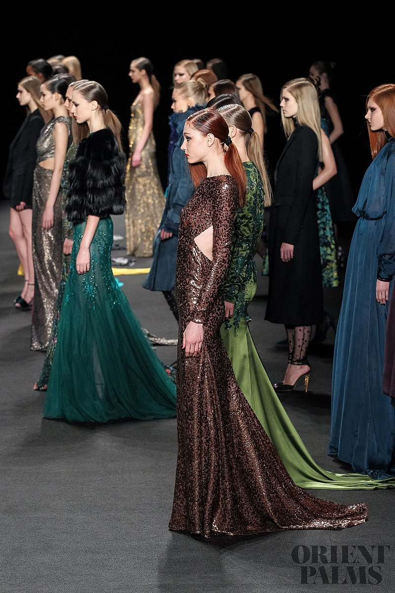 Monique Lhuillier Fall-winter 2015-2016 - Ready-to-Wear - 1