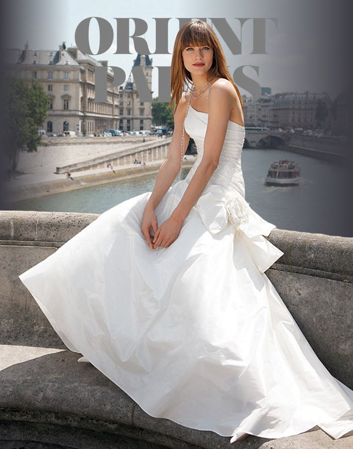 Robe de mariee cymbeline collection 2010