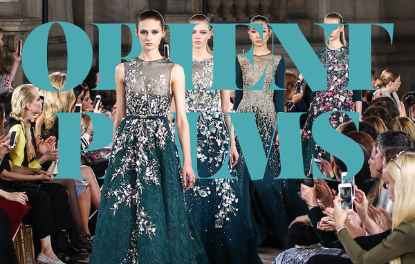 Georges hobeika guest member in the chambre syndicale of for Haute couture members